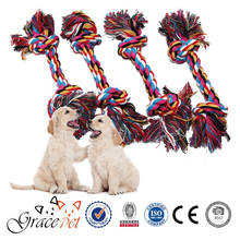 Durable Braided Pet Bone Chew Rope Toy for Dog Puppy
