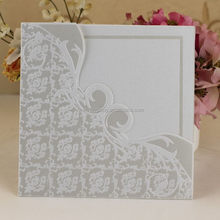 Top grade promotional high end wedding card