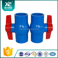 (XE01001-XE01010) PVC Compact Ball Valve DN40 from China