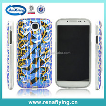 hot new fashional diamond pattern TPU mobile phone cover case for samsung s4