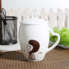 Top products hot selling new 2014 ceramic coffee mug with shapes