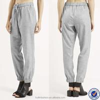 wholesale sewing contractors women jogger trousers cheap fashion ladies casual pant sets