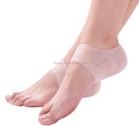 Medical Culticle and Calluss Remove Silicone Gel Heel Protector Wholesale, Moisturizing Gel Heel Socks Cracked Skin Care HA00525