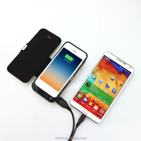 Pocket Wireless Li-polymer Battery Charger Mobile Phone Power Bank Case for iphone5/5s/5c and Smartphone