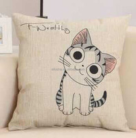 factory cheap factory wholesale price painting picasso plain natural linen cushion cover