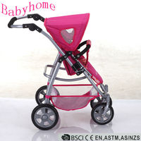 En71 Baby stroller with car seat see baby stroller Aluminum Baby doll stroller