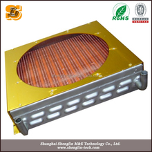 promotional factory price copper tube fin condenser for ship