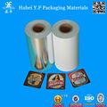 Fabricante de porcelana de vacío de envolver plata metálico hoja de papel
