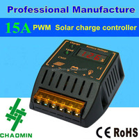 PWM 12v 24v solar panel charge dc motor speed controller 15A