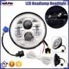 """BJ-HL-013 Newest 7"""" Round Jeep Motorcycle Wrangler LED Headlamp Motorcycle LED Lighting"""