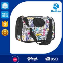 Colorful hot selling wholesale folding sturdy bag pet carrier plastic