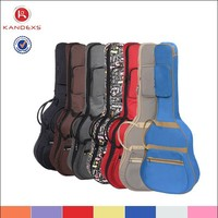 Best Selling Factory Price Shockproof Guitar Bag Musical InStrument Case Wholesale