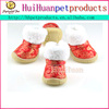 Advertisement pet dog shoes cotton dog grooming