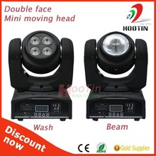 New Double Race 10W RGBW Disco Movng Head LED Beam Light
