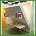 Chinês o mais recente projeto do quarto móveis de madeira cama invisível, usado na parede da cama, parede da cama de beliche