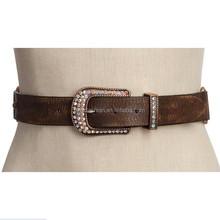 Wholesale ladies rhinestone belts