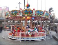 2012 the popular world hot selling interesting 16seats carousel for kids!