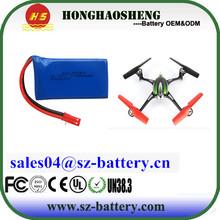 MJX X600 2.4G6 axis RC Hexacopter 3.7V 780mAh Li-polymer battery 603048