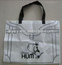 New Design PP non woven handle shopping bag wholesale