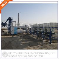 Beston Machinery 60t/h mobile asphalt mixing plant for sale
