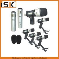iSK 7 pieces drum microphone set drum microphone