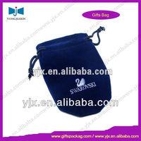 Screen Printing Gift String Velvet Bag/Pouch