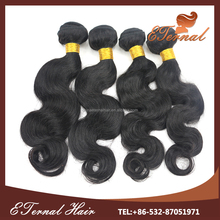 better Manufacturer Wholesale body wave 20 inch virgin remy real tangle free virgin remy brazilian virgin human hair weave