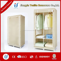 movable simple cheap wardrobe