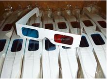 cheap disposable paper 3d glasses