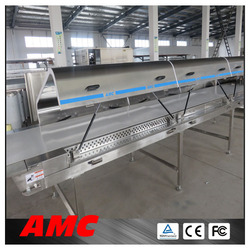 Device Intense Convection Temperature Control simple essential oil extracting mac... Cooling Tunnel For Production Line