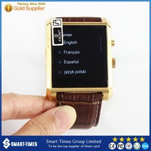 [Smart-Times]2015 New Arrive Smart Watch Long Battery Business Bluetooth Watch Phone