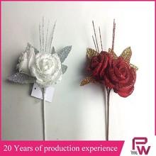 Artificial big double description Rose PE flower