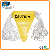 Good Quality Classical PVC/PE Safety Flags String Bunting Flags