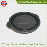 customized made aluminum die casting pan handle, injection spare parts
