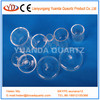 High-purity silica quartz crucible with lid