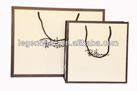 Factory price paper bag OEM flat paper bag printed with custom logo