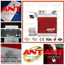 Hot sale stainless steel / carbon steel /iron/ aluminum / copper/ brass fiber laser marking machine/marker/engraving /printing
