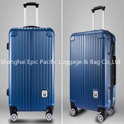 Hard ABS + PC waterproof trolley luggage, travel luggage