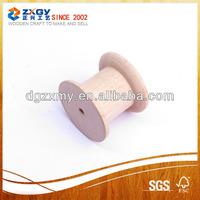 thread twine spool,natural wooden bobbins
