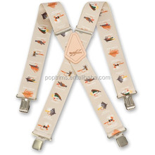 high-quality suspender with private logo for promotion