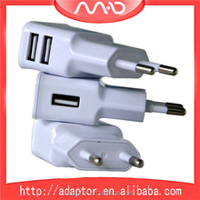 Wholesale high quality dual usb 5V 2.1A output dual port