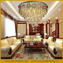 Manufacturer wholesale crystal ceiling lamp for hotel