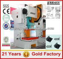 In stock Krrass JH21 C frame High Precision Compact hydraulic press price, 100 ton power press machine rates
