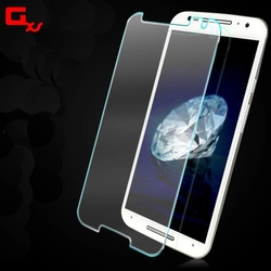 Cell Phone Screen Protectors For Moto X style 0.3mm 2.5D Hardness Tempered Glass With Retail Package
