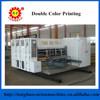 TB480 Two color carton box printing slotting die cutting making machine