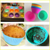 China Manufacture Wholesale Baby Bake Cake Silicone Cupcake Mold