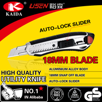 Aluminium Alloy 18mm blade cutter knife