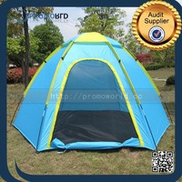 New Design Hexagon Outdoor Quick Camping House Folding Bed Tent