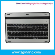 shenzhen android tablet aluminum 10 inch keyboard case for tablet pc for Samsung P7500/7510/5100