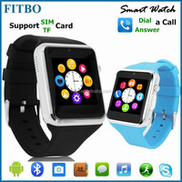 For Iphone 6/Samsung S4 S6 Smartphone, cheap touch screen watch mobile phone